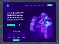 Design presale page for ICO product