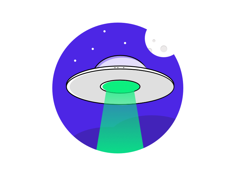 UFO icon graphic ufo space spaceship moon