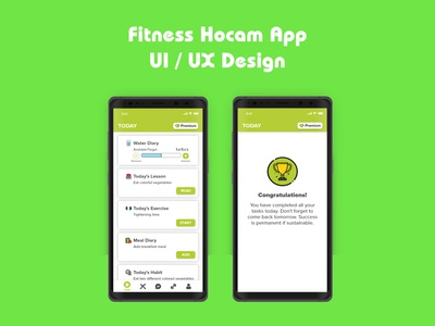 Wellness App Design