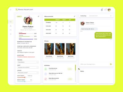 Dashboard UI Design dashboard app member dashboard wellness dashboard fitness dashboard mobile ui ui dashboard design dashboard ui dashboad