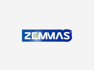 Zemmas Logo Design profesyonel logo tasarımı profesyonel logo tasarım logo tasarımı logo tasarım rebrand logo animation illustration design system branding agency branding brand logotype logos type