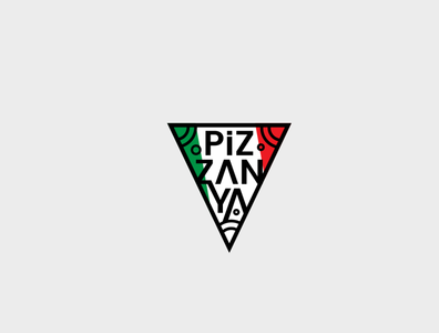 Pizzanya Logo Design