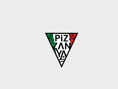 Pizzanya Logo Design profesyonel logo tasarımı profesyonel logo tasarım logo tasarımı logo tasarım rebrand logo animation illustration design system branding agency branding brand logotype logos type