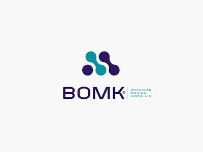 BOMK Logo Design profesyonel logo tasarımı profesyonel logo tasarım logo tasarımı logo tasarım rebrand logo animation illustration design system branding agency branding brand logotype logos type