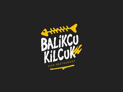 Balikcu Kilçuk / Logo Design trawler fisher angler fishery fisherman fish fishing logotype logo design logo icon brand