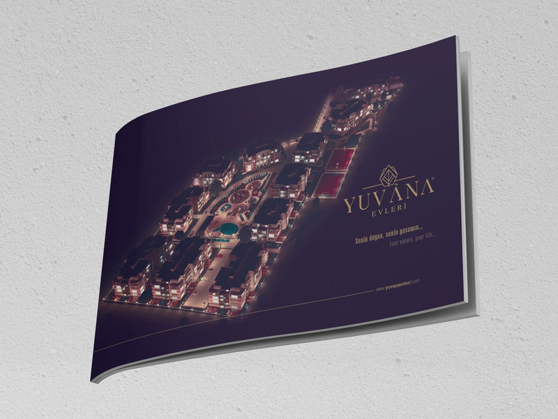 Yuvana Homes Catalogue visual design typography logo design letterhead logo furniture idenity envelope design design corporate identity corporate business card corporate branding bussines card branding design branding brand and identity