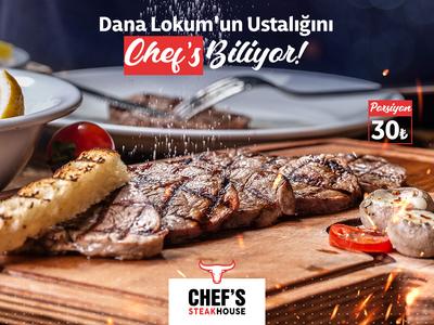 Chefs Steak Social Media