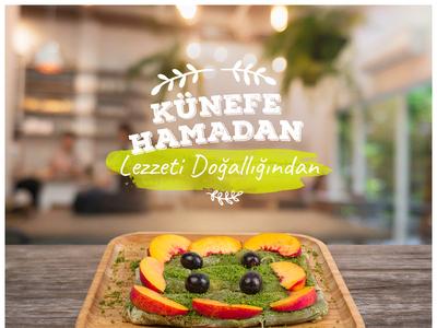 Hamadan Künefe Social Media Design