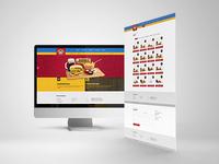 Wiking Burgers Web Design