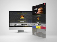 Packet Burger Web Design