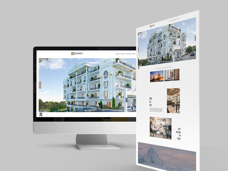 İsgök Web Design web design and development web design company web design agency website design web designer web website web design webdesign
