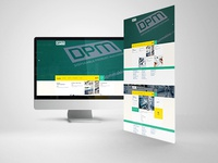 Dpm Makina Web Design