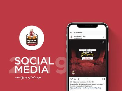 Boşnak Börekçi Sosyal Medya Tasarımı linkedin twitter facebook instagram advertising turkey design tasarım medya sosyal media
