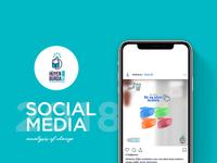 Hijyen Burada Sosyal Medya Tasarımı