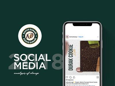 Kahve Durağı Sosyal Medya Tasarımı durağı kahve linkedin twitter facebook instagram advertising turkey design tasarım medya sosyal media