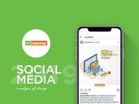 Kesmar Sosyal Medya Tasarımı