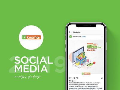 Kesmar Sosyal Medya Tasarımı market kesmar linkedin twitter facebook instagram advertising turkey design tasarım medya sosyal media