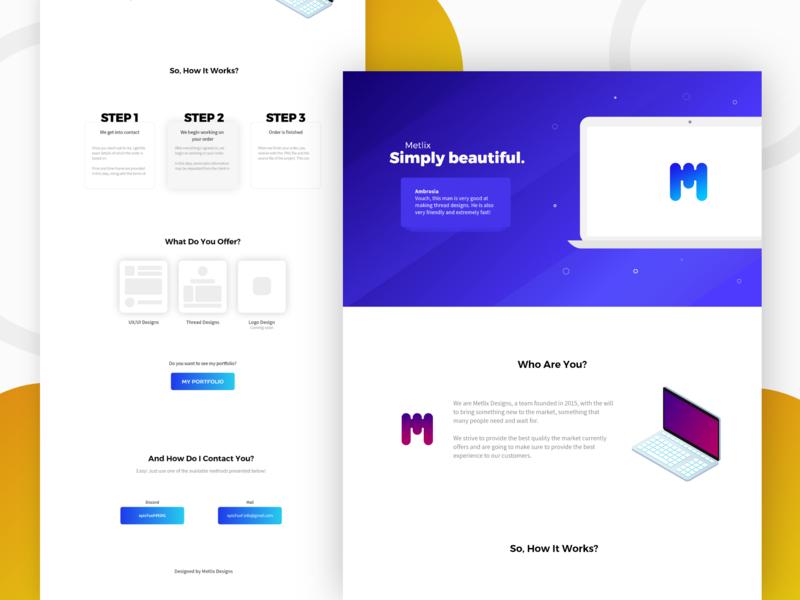 ac50d583d Metlix Thread Design identity web icon illustration ux flat vector ui design  branding