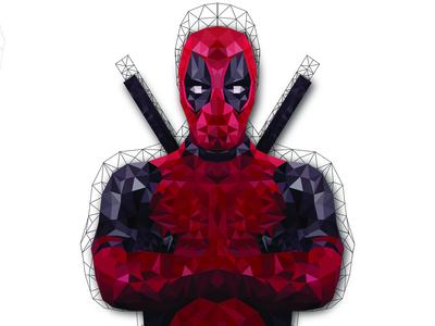 Deadpool poly art