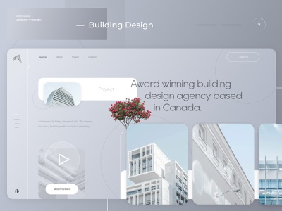 — Building Design / 2021 design визуализация веб-дизайн