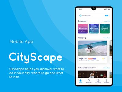 CityScape - App UI uxdesign user experience ui  ux user interface uiux ui design uidesign ux ui design