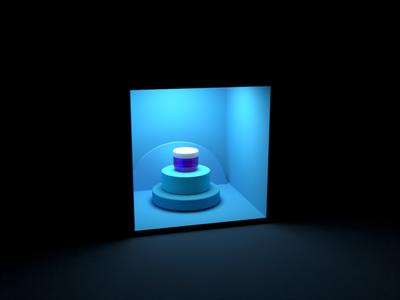 3D Composition uiux design