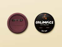 Pin Button Badge - Galimpics