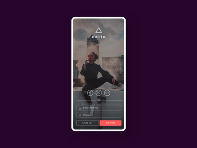 Login Page Design. app uxdesign ui  ux user experience ui design user interface uiux uidesign dailyui design daily 100 challenge ux ui
