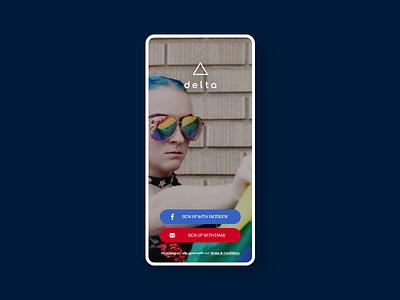 Login Page Design. app uxdesign ui  ux user experience uiux user interface ui design uidesign design daily 100 challenge ux ui gay pride