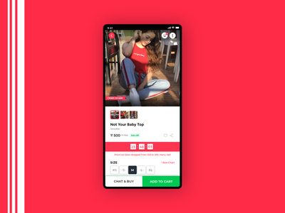 Coutloot Product Page UI Redesign Concept dailyui uxdesign user experience ui  ux user interface uiux ui design uidesign ux ui