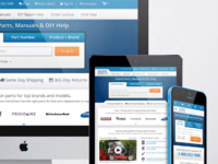 sears parts direct • responsive website