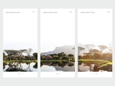 Luxury travel onboarding clean gif white ui travel 023 daily ui