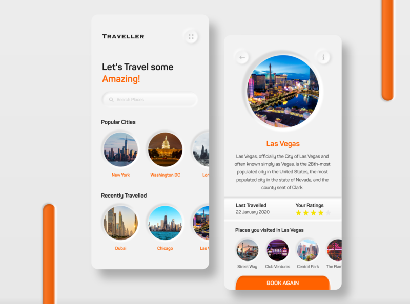 Traveller App - Let's Travel some Amazing!