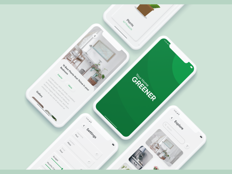 Greener App - Let's Decorate Green