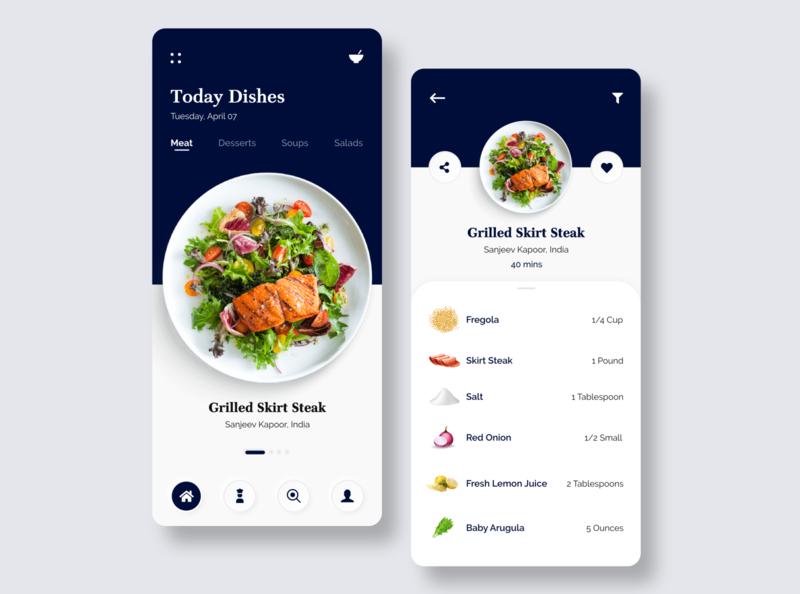 Kitchen Stories - Recipe Book App