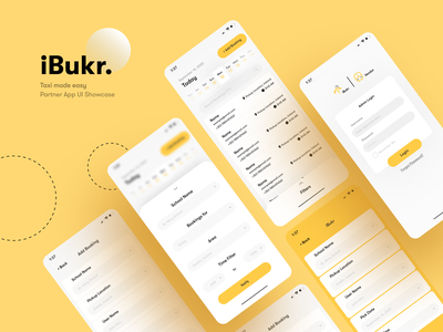 iBukr Admin Panel (Mobile View) mobile ui webdesign website ux taxi booking app school app booking app travel ui  ux user experience ui minimal userinterface
