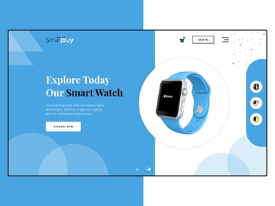 SmartBuy Web Store - Header Exploration