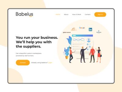 Business Agency - Header Exploration