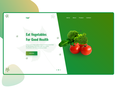 Vegetablewebsite Header