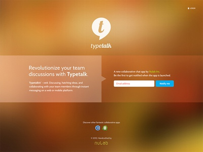 Typetalk - (App) Launching Soon