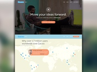 Cacoo Landing Page