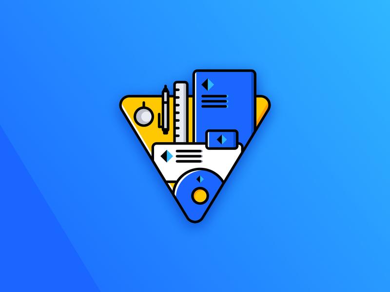 Icon design for personal website — Brand Identity Icon