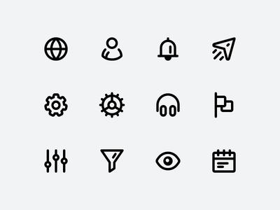 OTOjOY Iconography — Icon Design Exploration