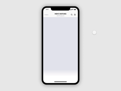Daily UI 007 — Filters Interaction Animation