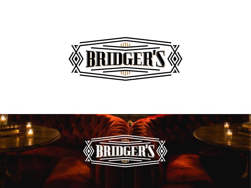 Logo Design for High End Cocktail Bar emblem emblem logo graphic designer vintage logo vintage badge creative india brand identity designer brand identity design vector graphic  design logo designer design typography art deco branding logo