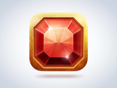 Ruby iOS icon