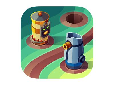 Defenders iOS icon