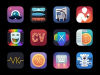 iOS App icons 2015