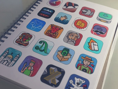 App icons sketches