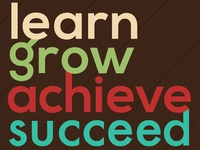 Learn. Grow. Achieve. Succeed